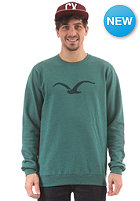 CLEPTOMANICX M�we Tonal Sweatshirt heather alpine green