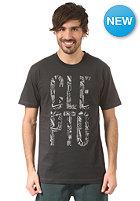 CLEPTOMANICX Namaste S/S T-Shirt pirate black