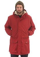 CLEPTOMANICX Parkistan Ripstop Jacket dried tomato