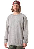 CLEPTOMANICX Patch Sweatshirt heather grey