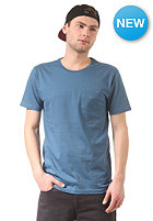 CLEPTOMANICX Pocket S/S T-Shirt petrol blue