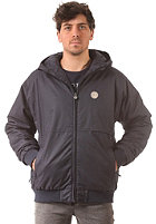 CLEPTOMANICX Polarzipper Hemp Jacket dark navy