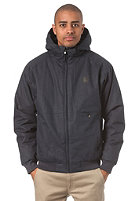 CLEPTOMANICX Polarzipper Jacket dark navy