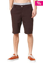 CLEPTOMANICX Port Classic Chino Short dark brown