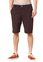 CLEPTOMANICX Port Classic Chino Shorts dark brown