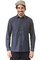 CLEPTOMANICX Port L/S Shirt blue denim