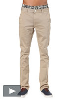 CLEPTOMANICX Port Slim Chino Pant beige