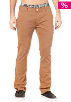 CLEPTOMANICX Port Slim Chino Pant toasted coconut