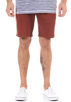 CLEPTOMANICX Port Slim Chino Short dried tomato