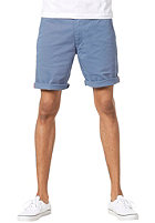 CLEPTOMANICX Port Slim Chino Shorts captains blue