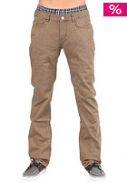 CLEPTOMANICX Port Slim Pant brown