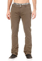 CLEPTOMANICX Port Slim Vintage Pant dark olive