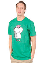 CLEPTOMANICX Punker Toast Basic S/S T-Shirt jolly green