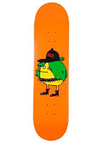 CLEPTOMANICX Punkerzitrone Skateboard orange 7,625