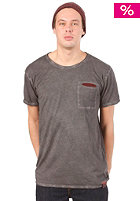 CLEPTOMANICX Rissen S/S T-Shirt dark gray
