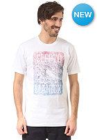 CLEPTOMANICX Scribble Block S/S T-Shirt white