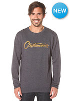 CLEPTOMANICX Script heather dark navy