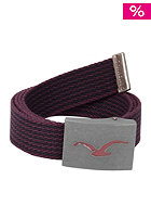 CLEPTOMANICX Seagull Belt burgundy