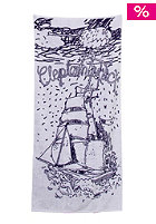 CLEPTOMANICX Ship Towel navy/white