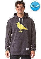 CLEPTOMANICX Smile Gull Hooded Sweat heather dark navy