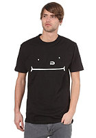 CLEPTOMANICX Smile Toast S/S T-Shirt black