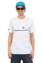 CLEPTOMANICX Smile Toast S/S T-Shirt white
