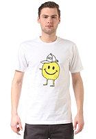 CLEPTOMANICX Smile Zitrone S/S T-Shirt white