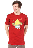CLEPTOMANICX Sombrero S/S T-Shirt dried tomato