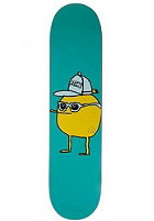 CLEPTOMANICX Sonnenzitrone Skateboard jade 7,5