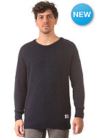 CLEPTOMANICX Spots Knit Sweat dark navy