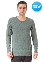 CLEPTOMANICX Spots Summer Knit Sweat olive green
