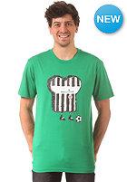 CLEPTOMANICX St. Pauli Toast S/S T-Shirt jolly green