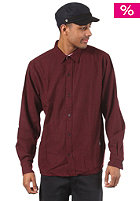CLEPTOMANICX Summa L/S Shirt burgundy