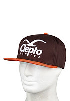 CLEPTOMANICX Super CI Cap dark brown