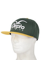 CLEPTOMANICX Super CI Cap spruce green