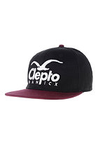CLEPTOMANICX Super CL Ball Cap pirate black
