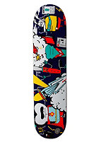 CLEPTOMANICX Superhelden Skateboard blue 7,5