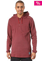 CLEPTOMANICX Terry 2 Hooded Sweat dried tomato