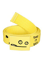 CLEPTOMANICX Toast Belt yellow