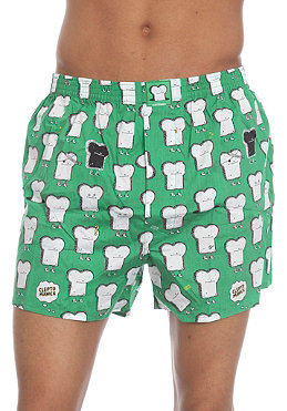 CLEPTOMANICX Toast Boxershorts kelly green