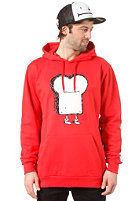CLEPTOMANICX Toast Hooded Sweat red