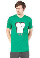 CLEPTOMANICX Toast S/S T-Shirt jolly green