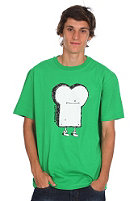 CLEPTOMANICX Toast S/S T-Shirt kelly green 