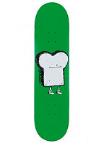 CLEPTOMANICX Toast Skateboard green 7,625