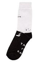 CLEPTOMANICX Toast Socks 3er Pack white