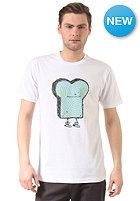 CLEPTOMANICX Verstrahlt Toast S/S T-Shirt white