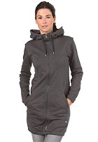 CLEPTOMANICX Womens Billie Hooded Zip Sweat dark gray