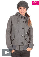 CLEPTOMANICX Womens Cilla Jacket heather gray