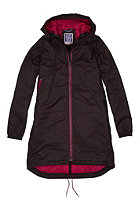 CLEPTOMANICX Womens Delphi Hemp Jacket dark brown