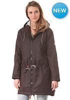 CLEPTOMANICX Womens Delphi Hemp Jacket dark brown